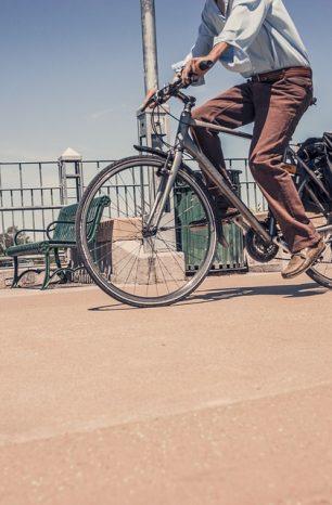 Andare a lavorare in bici fa bene