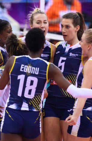 I team Joma Imoco Volley e Lube Volley Campioni Del Mondo!