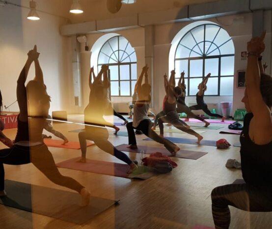 Lo Yoga come non l'avete mai visto.