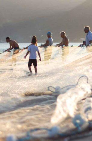 L'importanza delle reti da pesca: i rifiuti come materia prima
