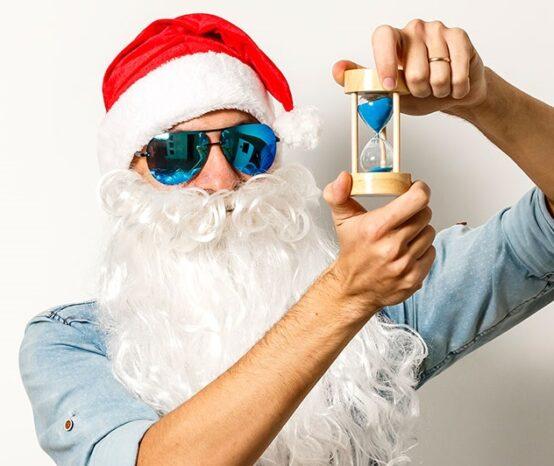Babbo Natale si sta già allenando